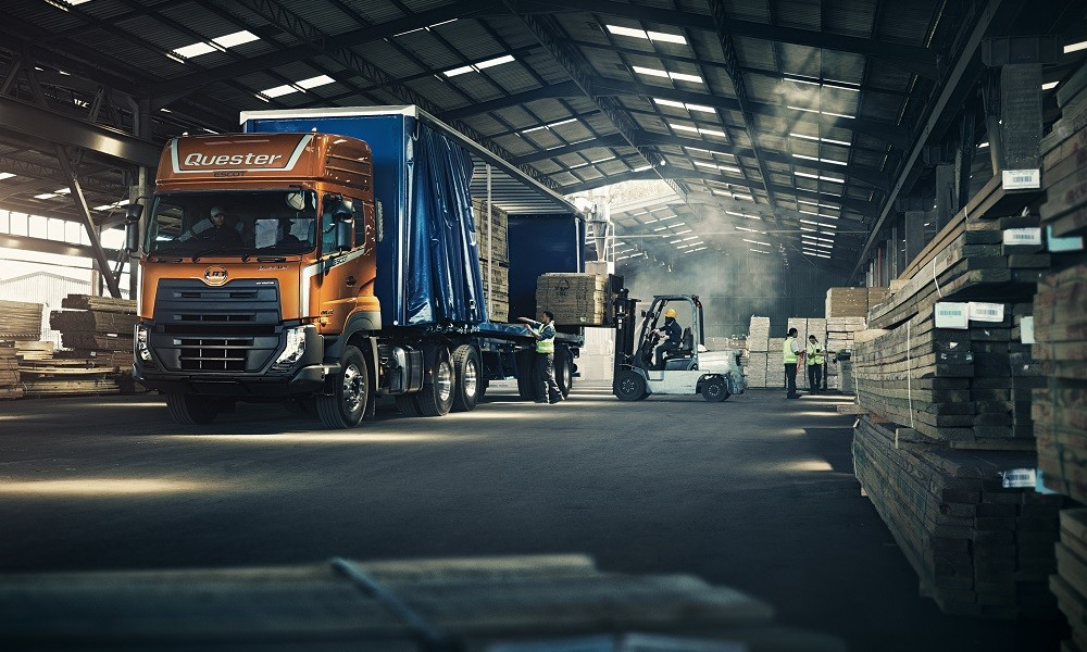 UD trucks New Quester tuning