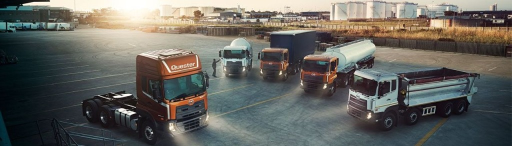 UD trucks New Quester tuning 1