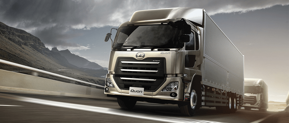 UD trucks New Quon tuning 1