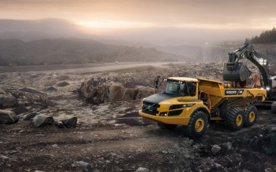 Volvo construction equipment tuning –  articulated haulers, rigid haulers and asphalt pavers