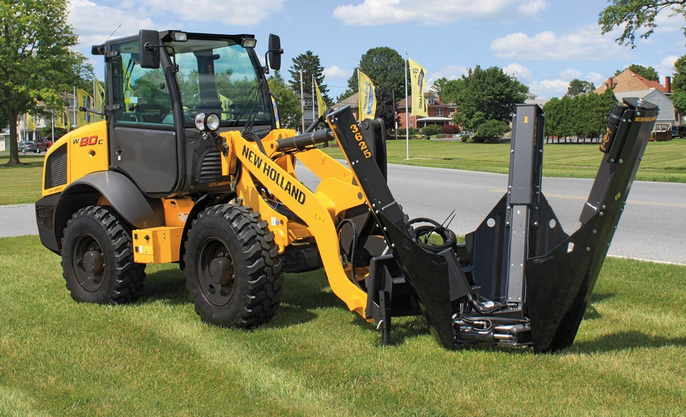 New Holland compact wheel loaders tuning 1