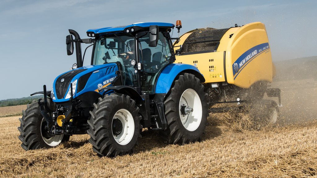 New Holland tractors tuning
