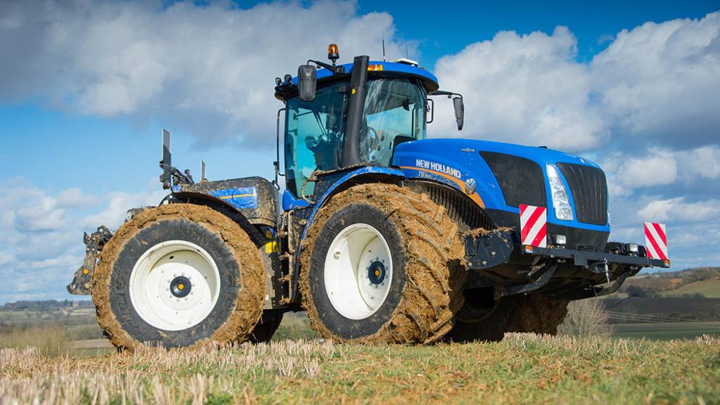 New Holland tractors tuning 2