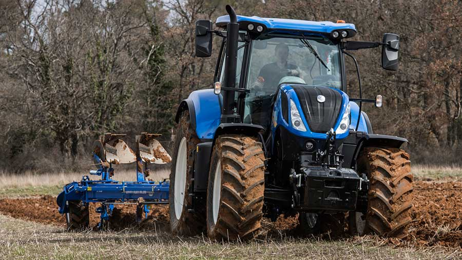 New Holland tractors tuning 3