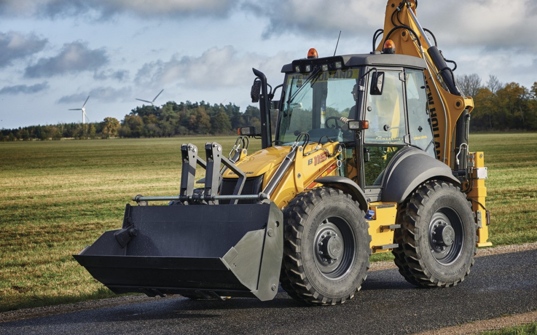 Backhoe New Holland Tuning and ECU remapping