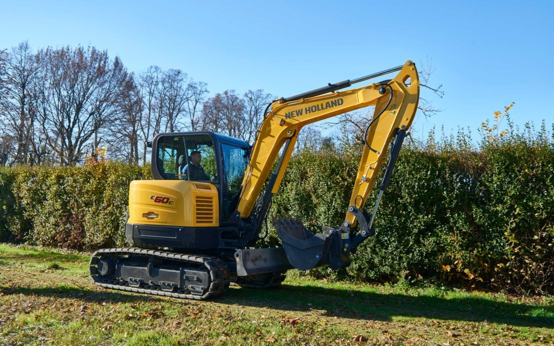 New Holland Excavators Tuning and ECU remapping